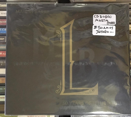 CD Martin Barre - Mlb 50 Years Of Jethro Tull - Importado - Lacrado