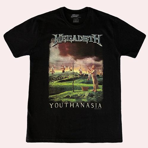 Camiseta Megadeth - Youthanasia - Stamp