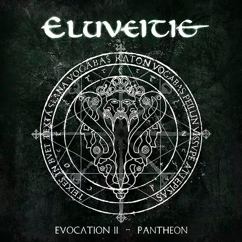 CD Eluveitie - Evocation II (Pantheon) - Lacrado