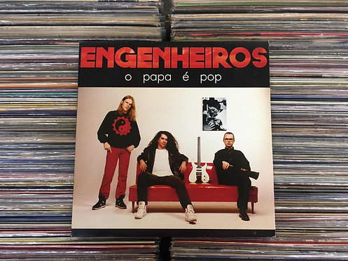 LP Engenheiros Do Hawaii - O Papa É Pop - Com Encarte