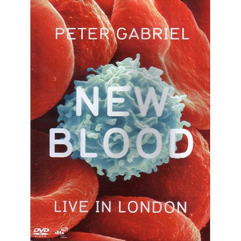 DVD Peter Gabriel - New Blood - Live In London - Lacrado