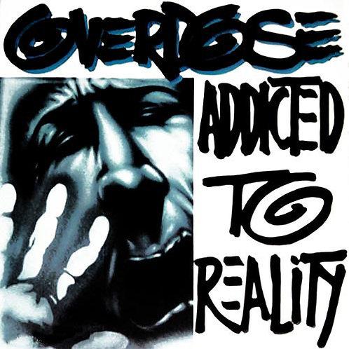 CD + DVD Overdose - Addicted To Reality - Slipcase - Lacrado