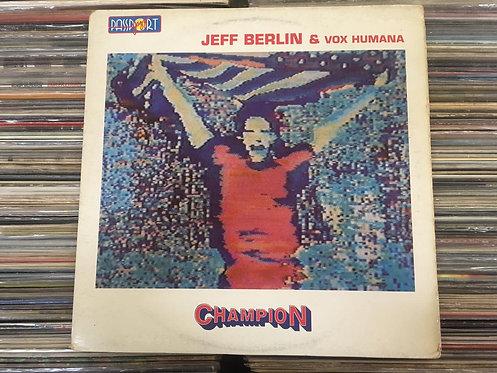 LP Jeff Berlin & Vox Humana - Champion - Importado