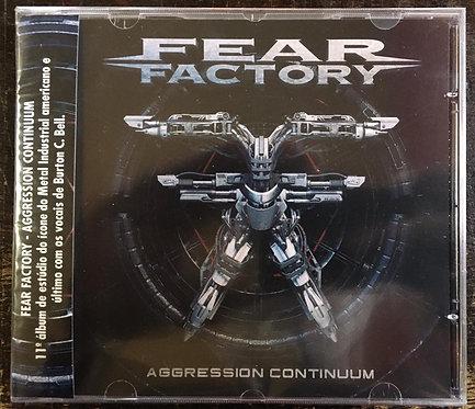 CD Fear Factory - Aggression Continuum - Lacrado