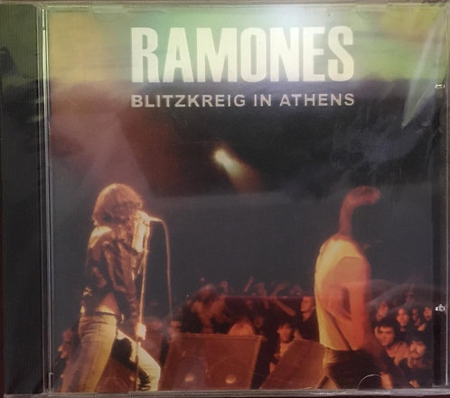 CD Ramones - Blitzkreig In Athens - Importado - Lacrado