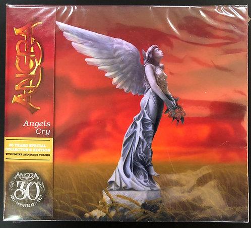 CD Angra - Angels Cry (30th Anniversary) - Slicapse + Poster - Lacrado