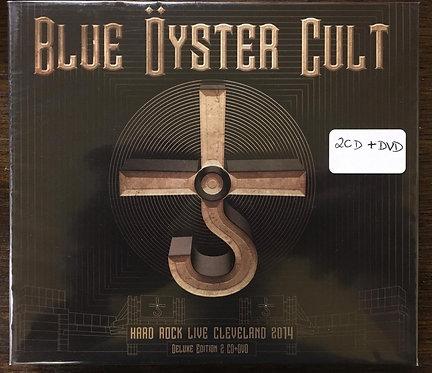 2 CDs + DVD Blue Öyster Cult - Hard Rock Live Cleveland 2014 - Deluxe Edtion