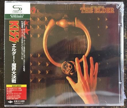 CD Kiss - (Music From) The Elder - Japonês - Lacrado
