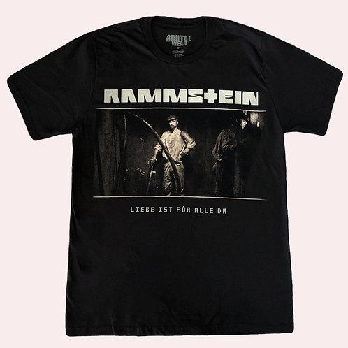 Camiseta Rammstein - Liebe Ist Für Alle Da - Brutal