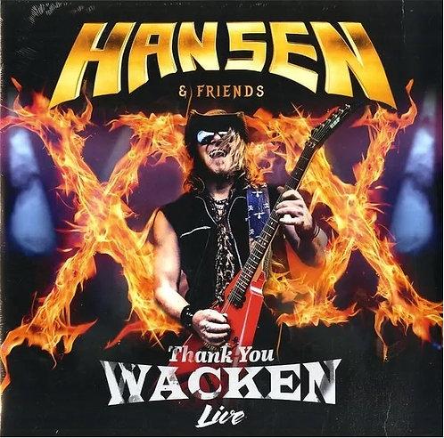 CD + DVD Hansen & Friends - Thank You Wacken Live - Lacrado