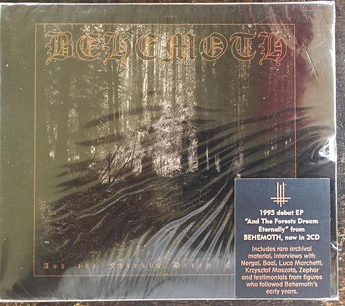 CD Behemoth - And The Forests Dream Eternally - Duplo - Slipcase - Lacrado