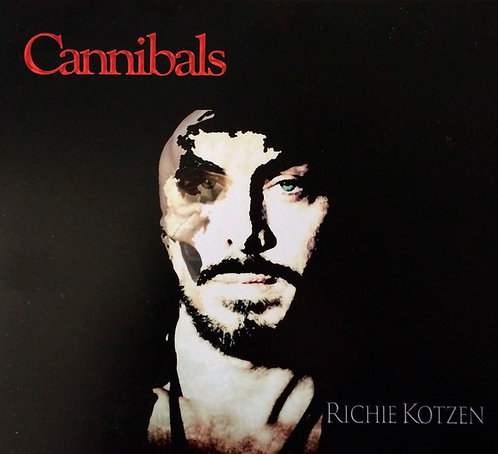 CD Richie Kotzen - Cannibals - Importado - Lacrado