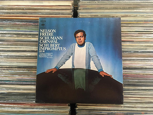 LP Nelson Freire - Carnaval / Impromptus Op. 90 - Importado