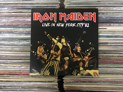 LP Iron Maiden - Live In New York City '82