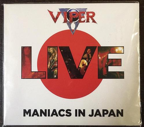 CD Viper - Maniacs In Japan - +Bônus / Paper Sleeve - Lacrado