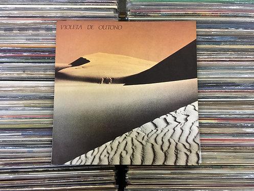 LP Violeta De Outono - 1986 / 45 RPM - Com Encarte