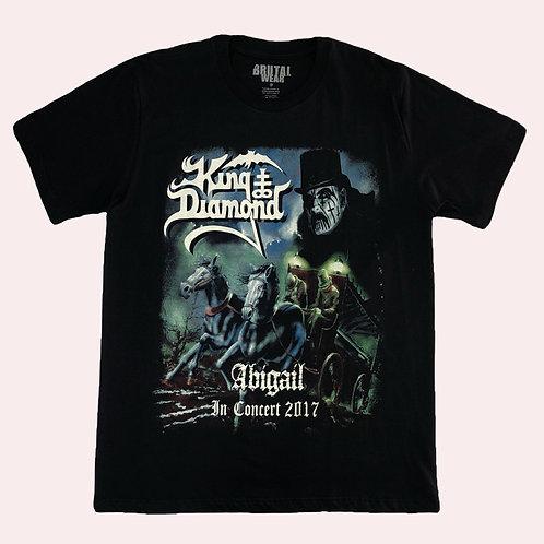 Camiseta King Diamond - Abigail - In Concert 2017 - Brutal