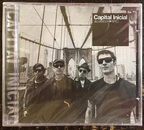 CD Capital Inicial - Acústico - Nyc - Lacrado