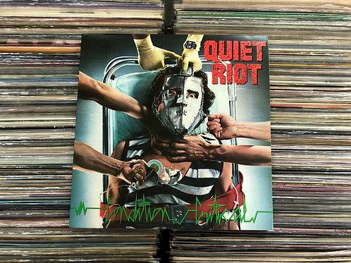 LP Quiet Riot - Condition Critical