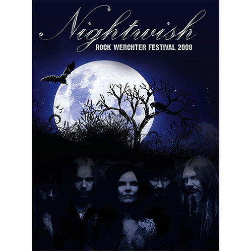 DVD Nightwish - Rock Werchter Festival 2008 - Lacrado