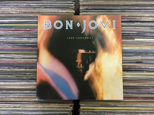 LP Bon Jovi - 7800° Fahrenheit - Com Encarte