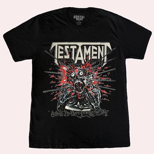 Camiseta Testament - Return to the Apocalyptic City - Brutal