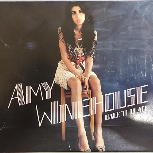 CD Amy Winehouse - Back To Black - Slidepack (Usado)
