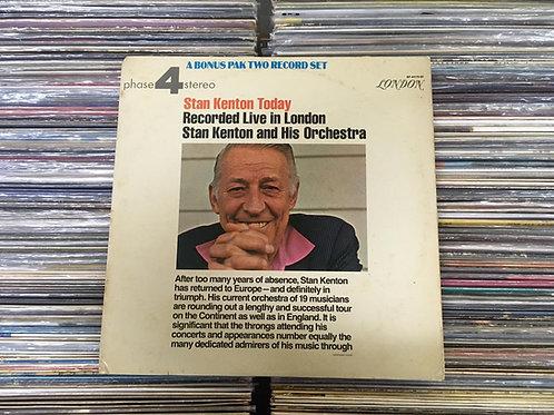LP Stan Kenton - Today: Recorded Live In London - Duplo - Importado