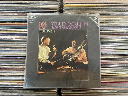 LP Yehudi Menuhin & Ravi Shankar - West Meets East Album / Volume 2