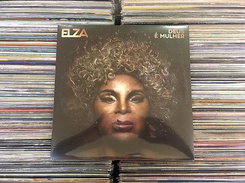 LP Elza Soares - Deus É Mulher - Lacrado
