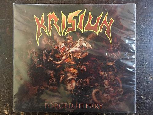 CD Krisiun - Forged In Fury - Slipcase - Lacrado