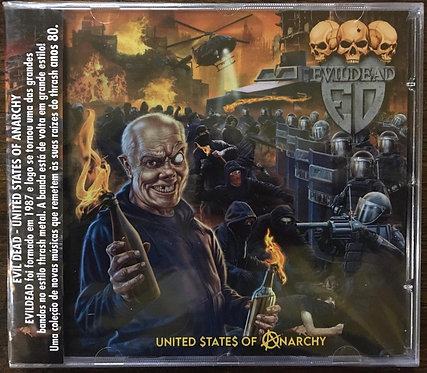 CD Evildead - United States Of Anarchy - Lacrado