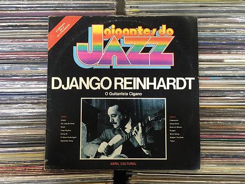 LP Django Reinhardt - O Guitarrista Cigano - Gigantes Do Jazz