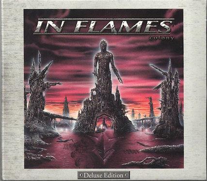 CD In Flames - Colony - Deluxe Edition - Lacrado