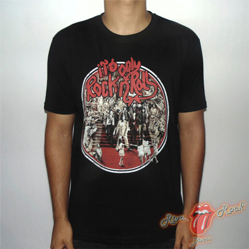 Camiseta The Rolling Stones - Its Only Rock N Roll - Stamp