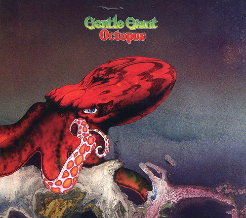 CD Gentle Giant - Octopus - Importados - Lacrado