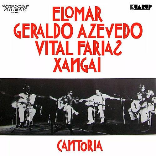 CD Elomar / Geraldo Azevedo / Vital F. / Xangai - Cantoria 1 - Lacrado