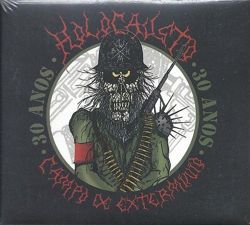 CD Holocausto - Campo De Extermínio - 30 Anos - Digipack - Lacrado