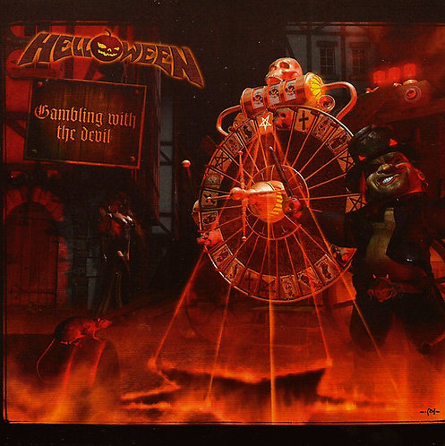 CD Helloween - Gambling With The Devil - Importado - Lacrado