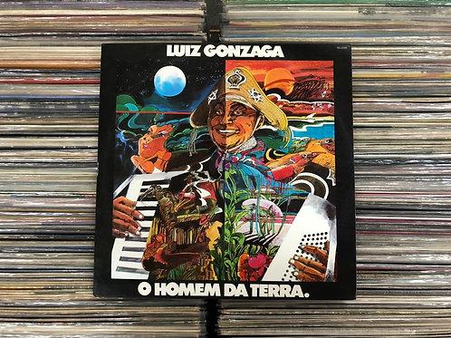 LP Luiz Gonzaga - O Homem Da Terra - Com Encarte