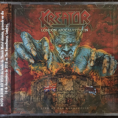 CD Kreator - London Apocalypticon: Live At The Roundhouse - Lacrado