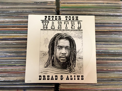 LP Peter Tosh - Wanted Dread & Alive - Importado