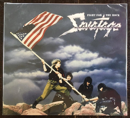 CD Savatage - Fight For The Rock - Digipack - Lacrado