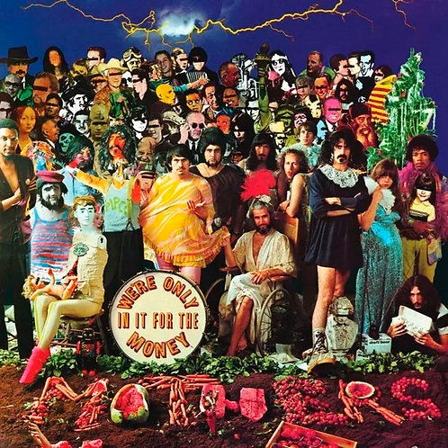 CD The Mothers Of Invention - We're Only In It For The Money - Lacrado