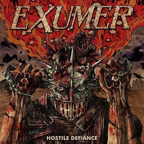 CD Exumer - Hostile Defiance - Slipcase - Lacrado