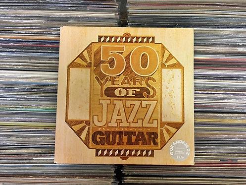 LP 50 Years Of Jazz Guitar - Vários Artistas - Duplo