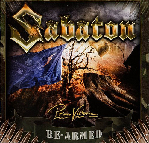 CD Sabaton - Primo Victoria Re-Armed - Slipcase - +Bônus - Lacrado