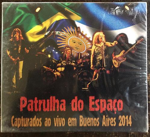 CD Patrulha Do Espaço - Capturados Ao Vivo Em Buenos Aires 2 - Slipcase