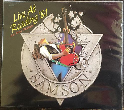 CD Samson - Live At Reading '81 - +Bônus - Slipcase - Lacrado