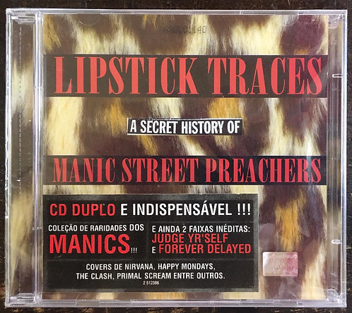 CD Manic Street Preachers - Lipstick Traces A Secret History - Duplo